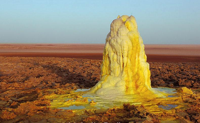 Danakil Depression in Ethiopia