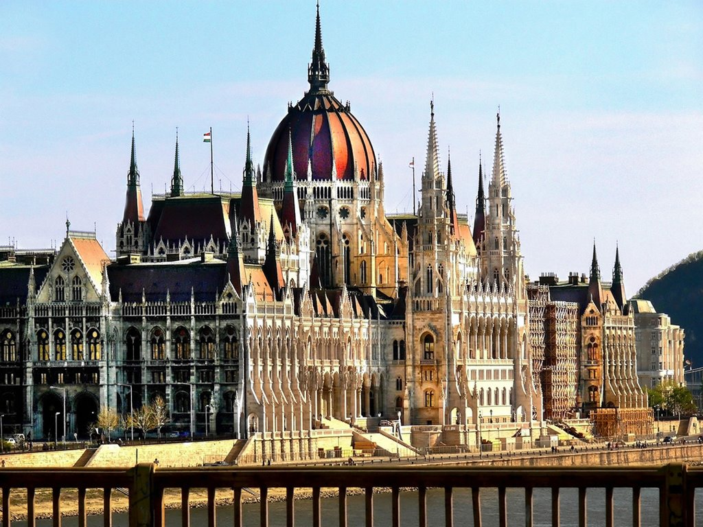 Hungarian Parliament Building in Hungary
