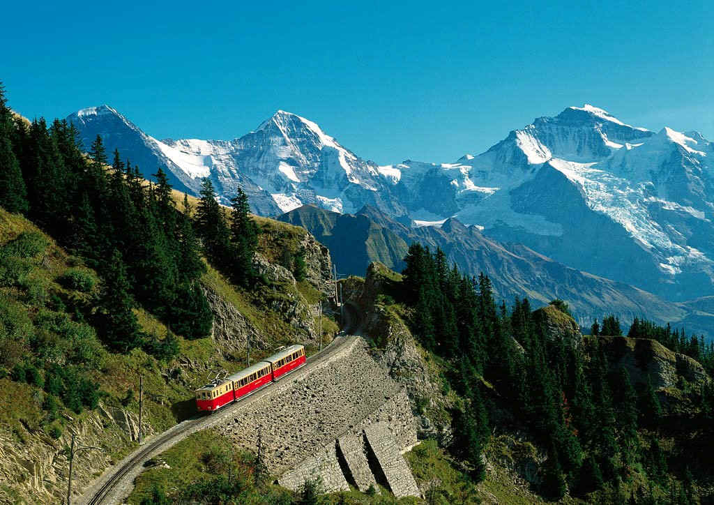 Jungfrau in switzerland