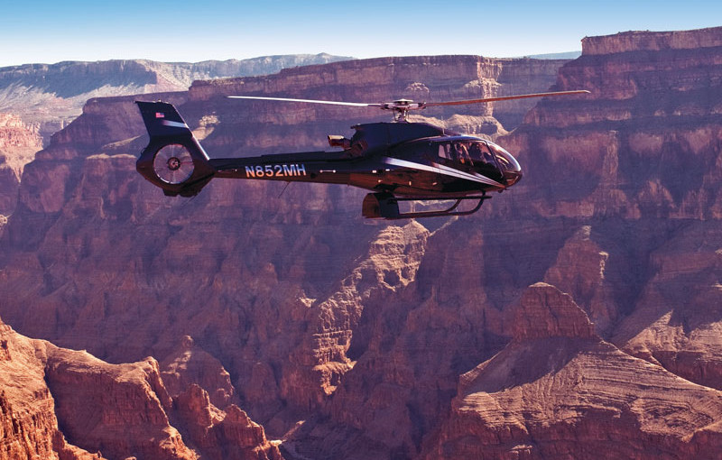 Journey to Grand Canyon via Helicopter