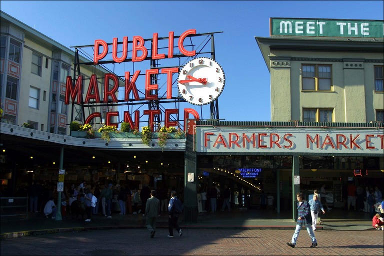 Market in seattle