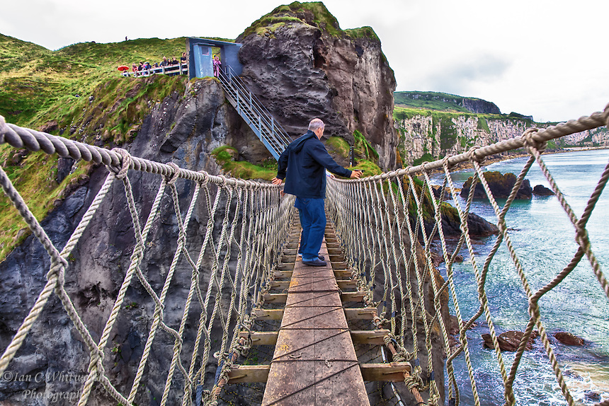 Rede rope bridge ireland