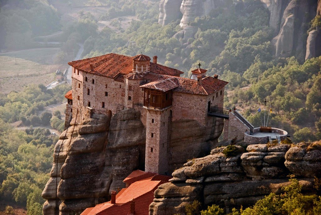 Roussanou Monastery in Greece