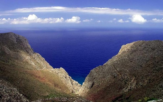 Tilos Islands in Greece