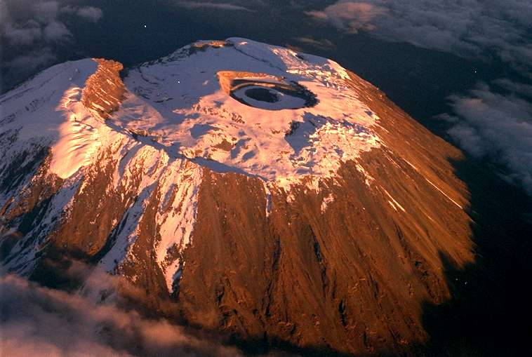 Volcanic Mountain in Tanzania