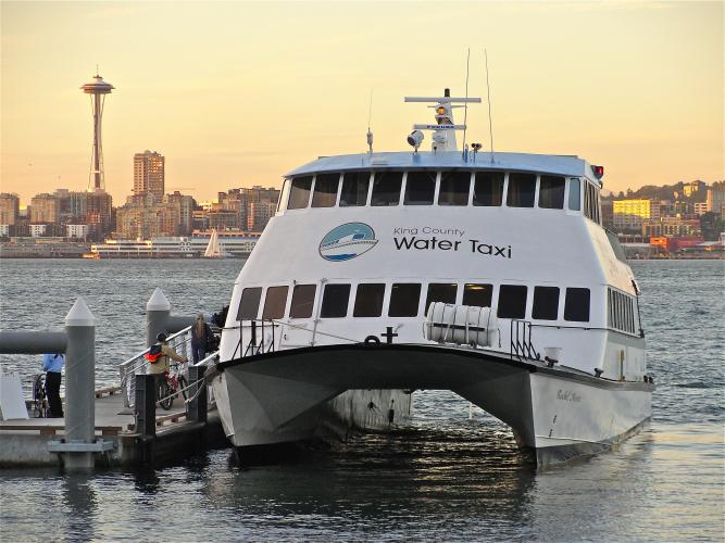 Water taxi in seattle